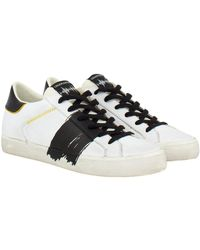Crime Low top distressed sneakers - Schwarz