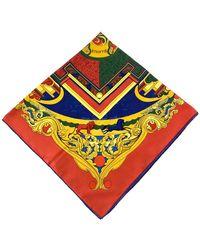 Hermès Sciarpa in Seta Animaux Solaires - Rosso