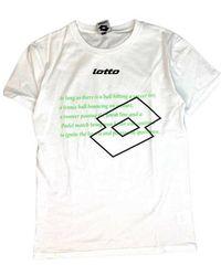 Lotto Leggenda T-shirt - Blanco