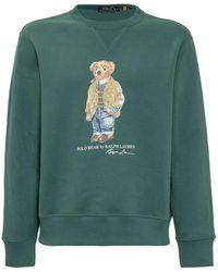 Polo Ralph Lauren Polo Bear Fleece Sweatshirt - Groen
