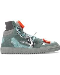 Off-White c/o Virgil Abloh 'off Court' Sneakers - Groen
