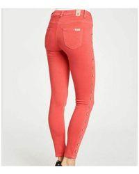 GAUDI Trousers Rojo