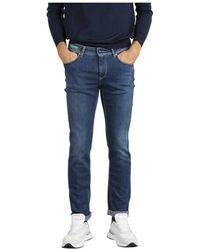 Re-hash Jeans Rubens - Blauw