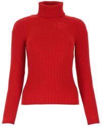 Maison Margiela Knitwear - Rood