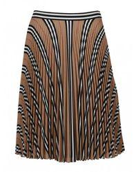 Burberry Pleated Skirt - Bestseller - Naturel