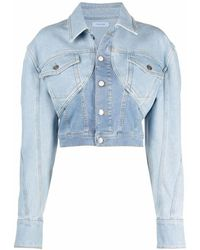 Mugler Jacket - Bleu