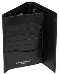 Lancaster Large wallet - Negro