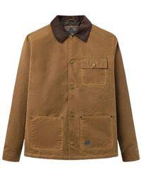 Brixtol Textiles Will Wax Jacket - Marron