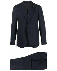 Lardini Suit Ip861ae - Zwart