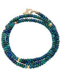 Nialaya De Mykonos Collection - Azuriet En Gold - Groen
