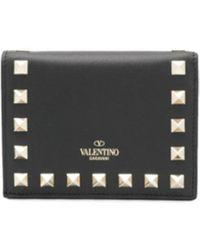 Valentino Valentino Garavani Garavani Wallet - Zwart