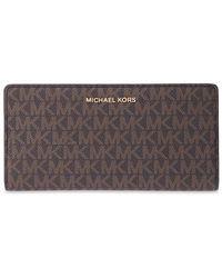 Michael Kors Wallet with logo - Marrone