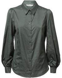 summum woman Long sleeve shirt - Vert