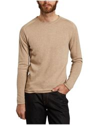 Knowledge Cotton Apparel Forrest sweater - Neutre