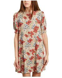 Thinking Mu Floreta Dress - Naturel