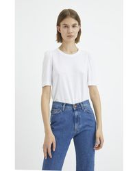 Rodebjer Dory t-shirt Blanco