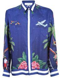 CASABLANCA Shirt - Blauw
