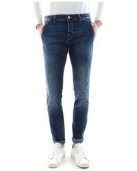 Dondup Konor Ab4 Jeans Men Denim - Blauw