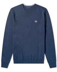 Fred Perry - Classic Crew Knitwear - Lyst