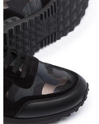 Valentino - Zapatillas Negro - Lyst