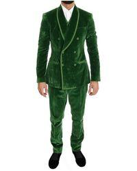 Dolce & Gabbana Suit - Grün