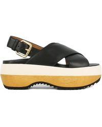 Marni Sandalen - Zwart
