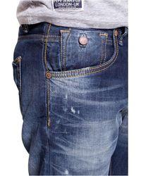 Pepe Jeans Jeans ajusté sestroy Pm2014570 Cave Azul