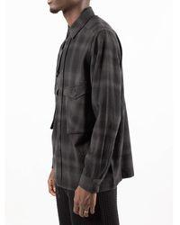 Maharishi Shirt Negro