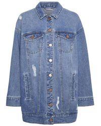 Noisy May Fiona Denim Jacket - Blauw