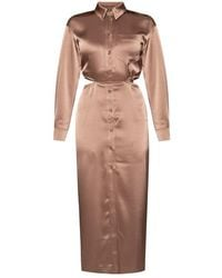 Nanushka - Cut-out dress - Lyst