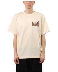 Juun.J T-shirt con stampa - Natur