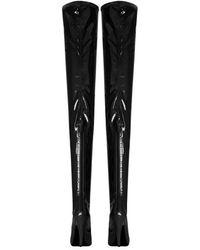 Saint Laurent Aila 110 Otk Boots - Zwart