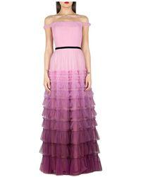 Marchesa Dress - Viola