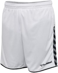 Hummel Authentic Poly Shorts - Wit