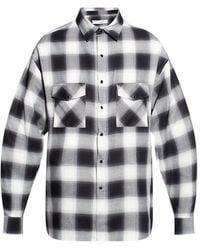 IRO Printed shirt - Noir