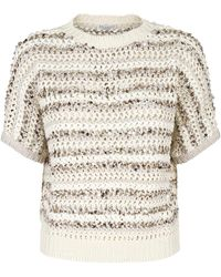 Brunello Cucinelli Sweater - Naturel