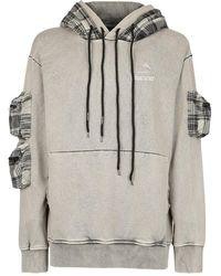Mauna Kea Printed hoodie - Gris