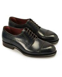 Brioni Milano Derby Shoes - Blauw