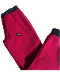 The North Face W' Fleeski Fleece Pant - Rood