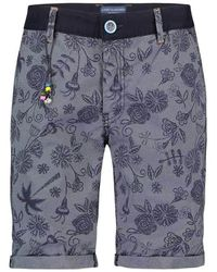 A fish named fred 22.03.231 Shorts - Blauw