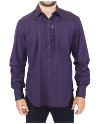 Ermanno Scervino Casual Shirt - Paars