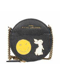 Marc Jacobs Circle Wallet The Charm - Grijs