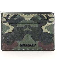Burberry Card Holder - Groen