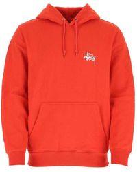 Stussy Sweatshirt - Rood