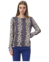 Trussardi Natural T-Shirt - Bleu