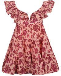 Zimmermann Dress - Roze