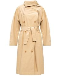 KENZO Trench-coat ceinturé - Neutre