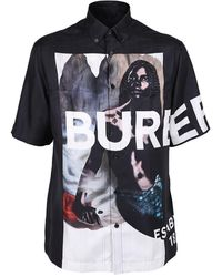 Burberry Printed Shirt - Blauw