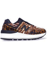 New Balance Sneaker 574 - Bruin