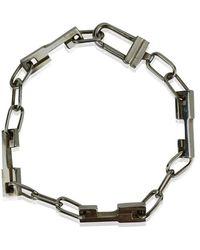 Gucci Chain Unisex Bracelet - Grijs